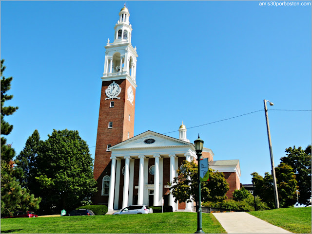 Ira Allen Chapel en la Universidad de Vermont, Burlington