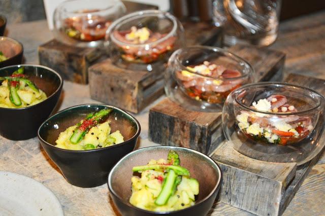 Einige der mit dem Öl Hunsrückgold zubereiteten Speisen