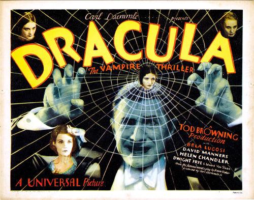 U.S. poster for 1931 Bela Lugosi Dracula