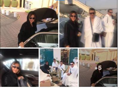 مدحت شلبى, العاملين بقناة بيراميدز, السعودية لاداء مناسك العمرة,