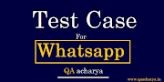 Test Cases For Whatsapp