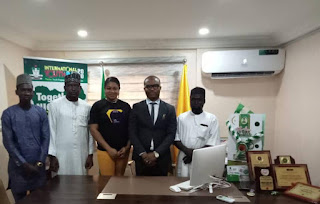 """NEWS: """"ENGAGE IN POLITICS TO BRING POSITIVE CHANGE"""" - ADODO CHARGES NIGERIAN YOUTHS"""