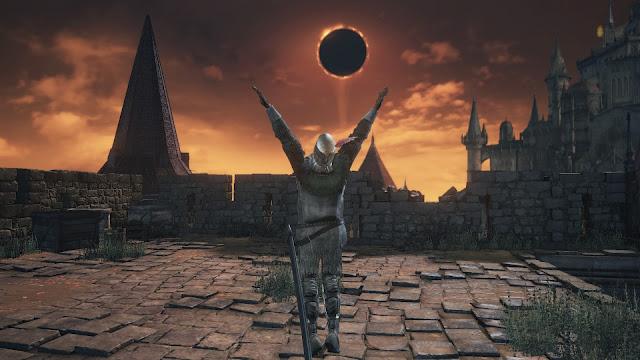 Gran Muro de Lothric Set Solaire Alabar al Sol