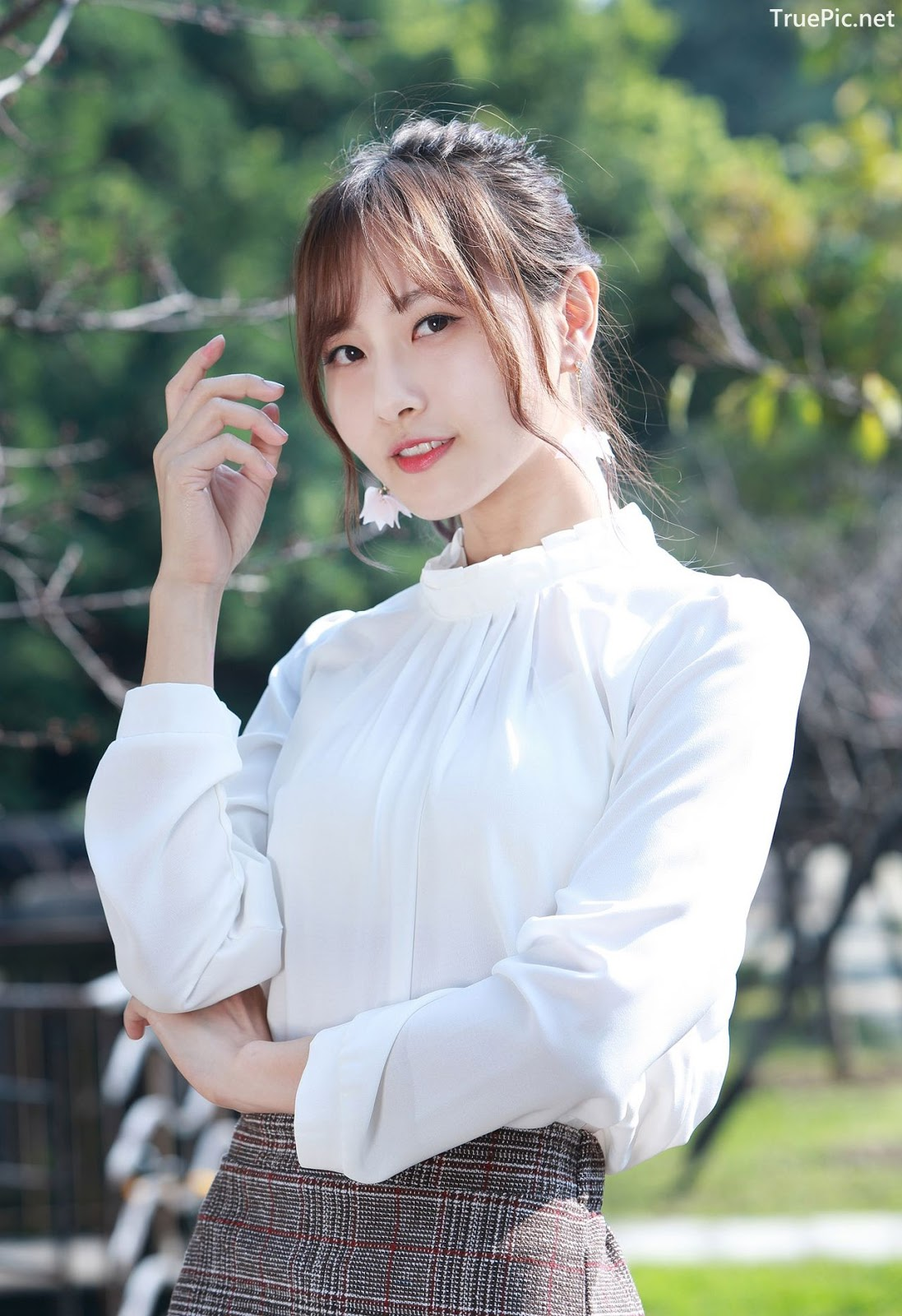 Image-Taiwanese-Model-郭思敏-Pure-And-Gorgeous-Girl-In-Office-Uniform-TruePic.net- Picture-6