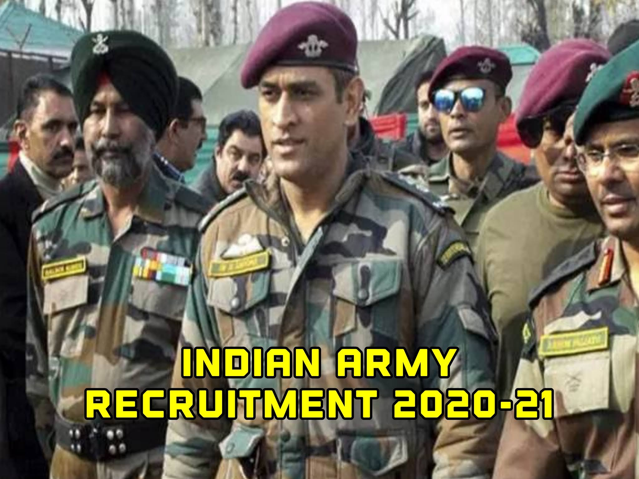 Indian Army Recruitment 2020-21 : Open Rally At Devbhoomi Dwarka