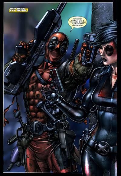 Deadpool en X-Men La guerra del mesías
