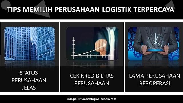 Memilih Perusahaan Logistik Terpercaya