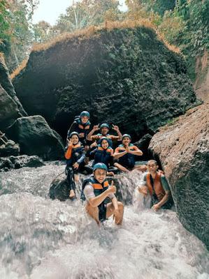 Body Rafting Ciwayang | Hulu Sungainya Green Canyon