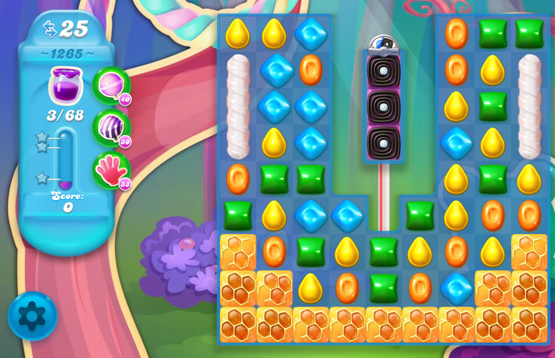 Candy Crush Soda Saga level 1265