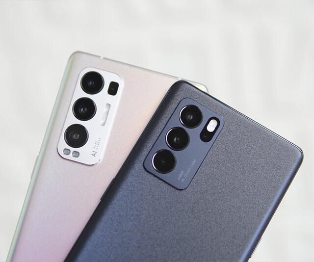 celular smartphone  realme rosa e preto