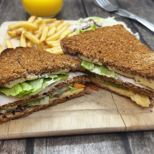 Chicken & Bacon Club Sandwich Recipe
