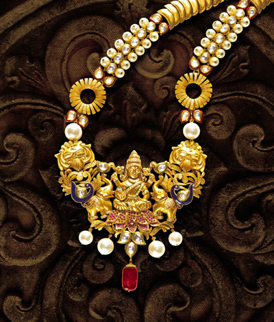 Indian Jewellery And Clothing Temple Jewellery From Tbz