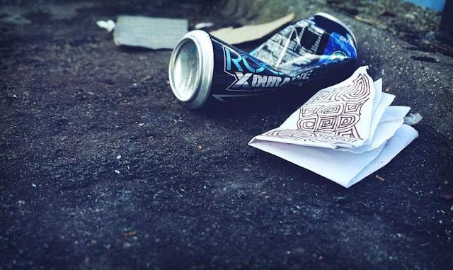 jangan membuang sampah di gunung
