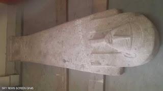 صور كنز فرعوني تم العثور عليه داخل تابوت في أسوان