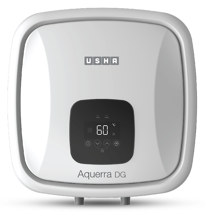 Usha launches water heater range with anti-bacterial sterilization system