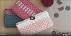 Portet Crochet com um padrão de enchimento profundo, fácil e rápido