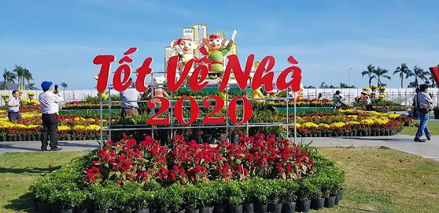Quy Nhơn: Say đắm cùng Lễ hội hoa xuân và linh vật xuân Canh Tý 2020