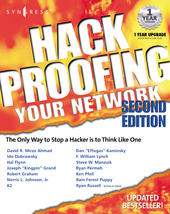 Hack Proofing: Your Network 2nd Edition, Syngress