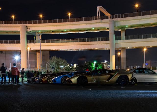 Lambos Lamborghini Lambocat wangan daikoku