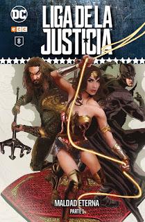 Liga de la Justicia: Coleccionable semanal tomo8