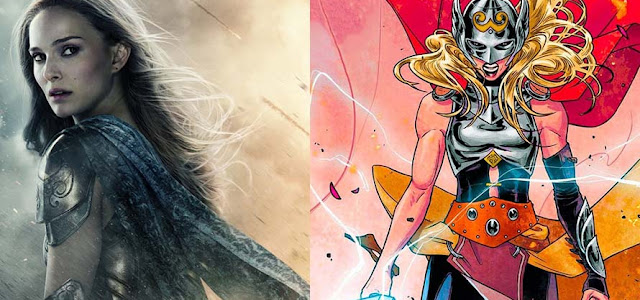 Natalie Portman pode ter chego para as filmagens de 'Thor: Amor e Trovão'
