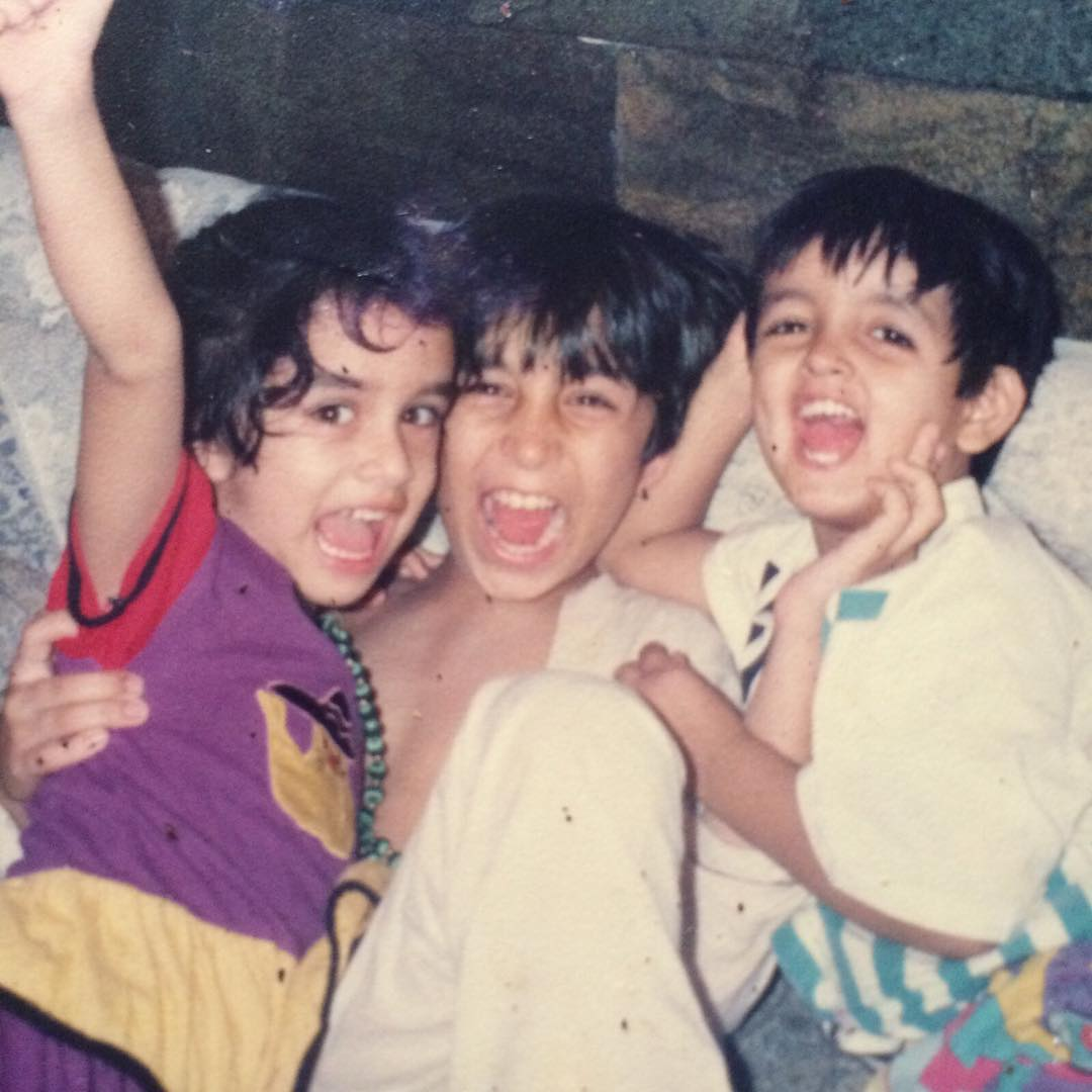 Bollywood Actress Shraddha Kapoor Childhood Pics - MERE PIX