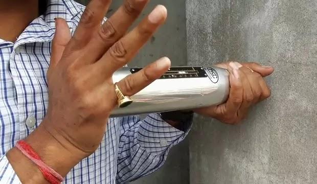 column rebound hammer testing