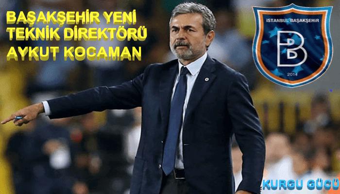 Başakşehir Yeni Teknik Direktörü Aykut Kocaman Oldu!