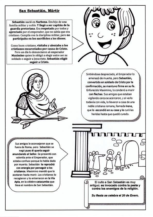 La Catequesis (El blog de Sandra): Recursos Catequesis San Sebastián ...