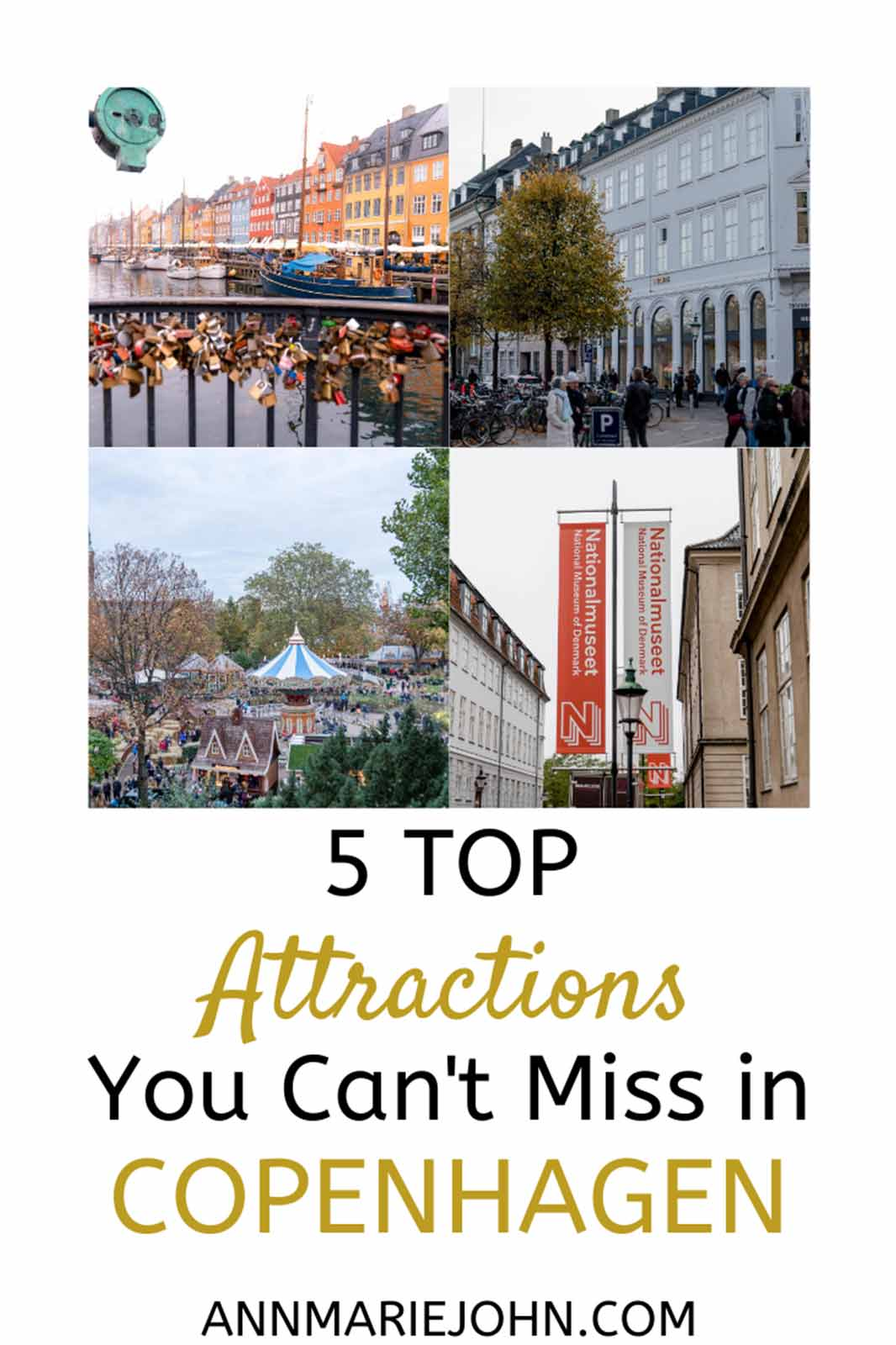 Top 5 Attractions in Copenhagen You Can't Miss!