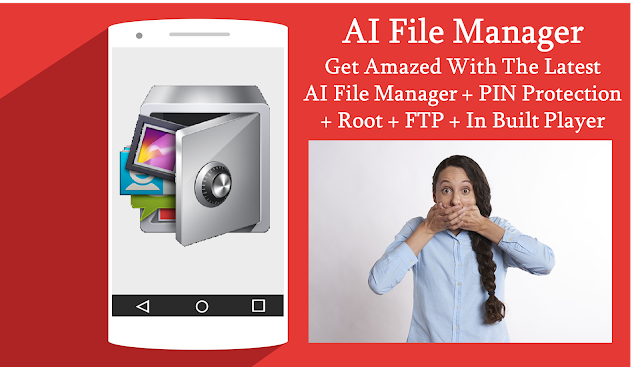 AI File Manager - Ultimate PIN Protection App in PlayStore