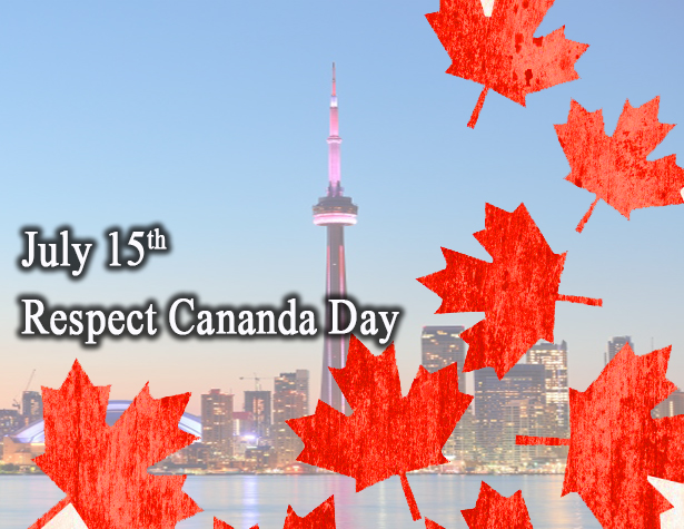 July 15- Happy National Respect Canada Day 2020