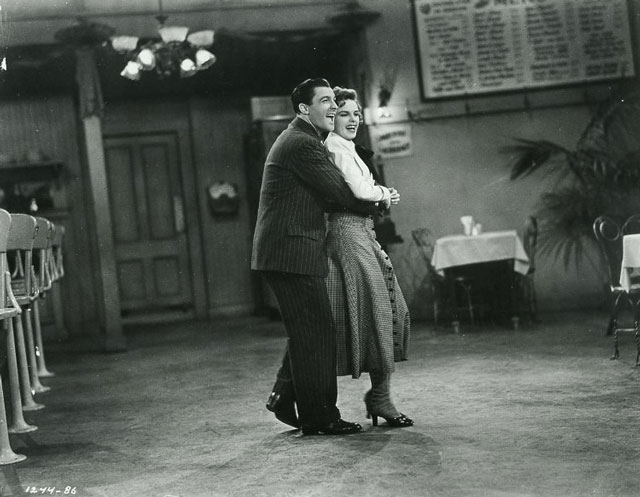 Judy Garland and Gene Kelly rehearsing, 26 March 1942 worldwartwo.filminspector.com