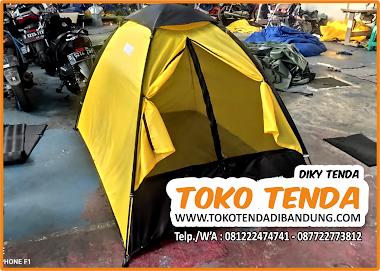 Beli Tenda Camping Perkemahan Murah - Tenda Dome Kapasitas 2 Orang
