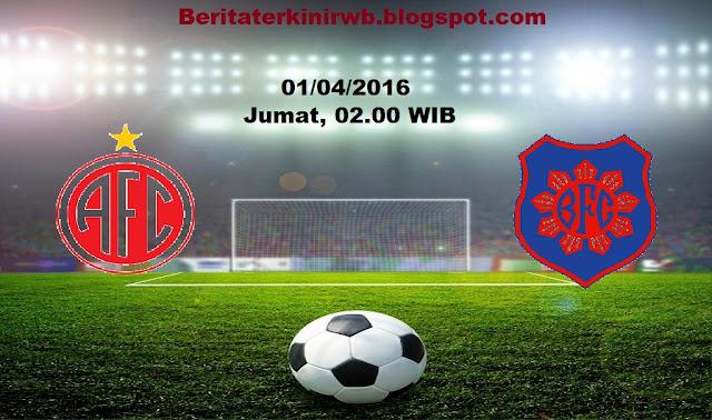 Berita Terkini | Prediksi America RJ vs Bonsucesso FC 1 April 2016