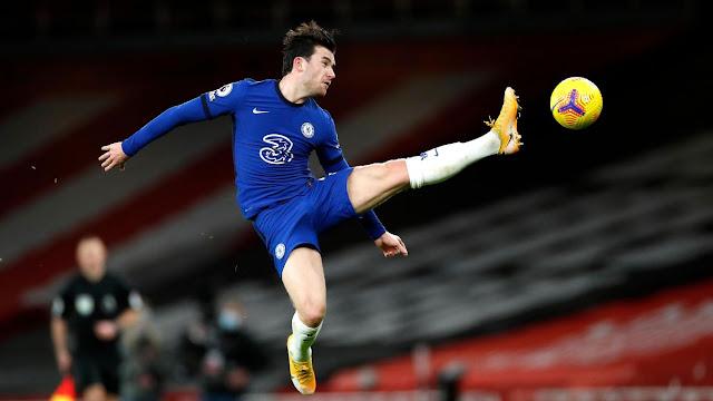 Chelsea defender Ben Chiwell
