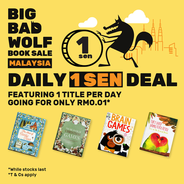 The Wolf 'Awakens'… The Big Bad Wolf Book Sale Returns with a Hybrid Book Sale!