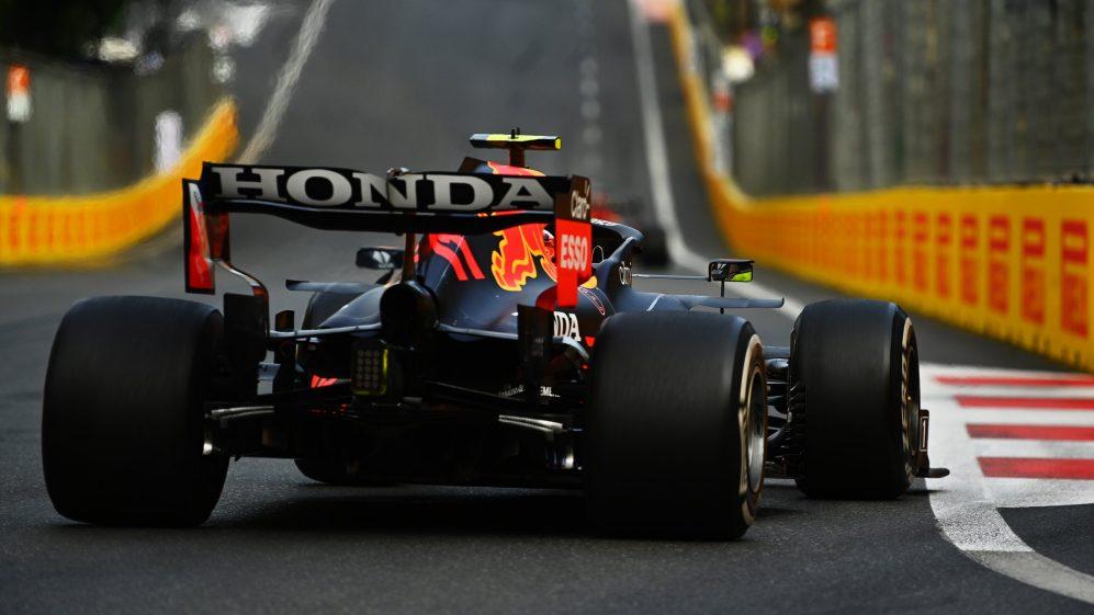 Perez conseguiu aumentar o ritmo de seu carro sem causar altos níveis de degradação dos pneus no domingo