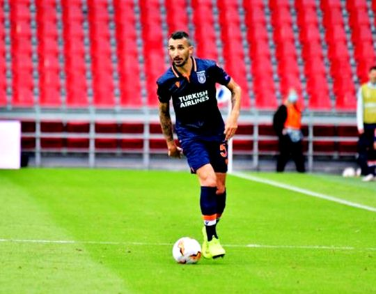 Mehmet Topal appeared in 100 matches in European Cups