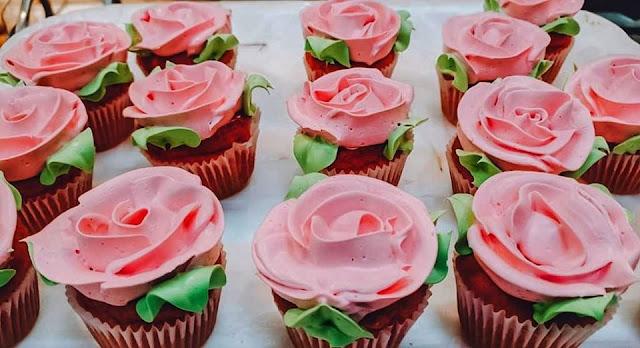 Cupcake para o Dia da Mães Padaria Sul América