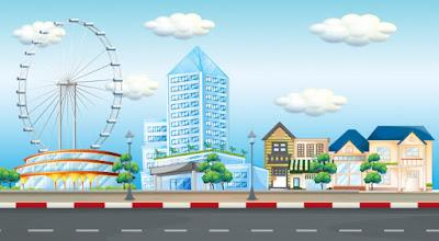 مصطلحات واسماء الاشياء فى المدينة باللغة الانجليزية City terms in English