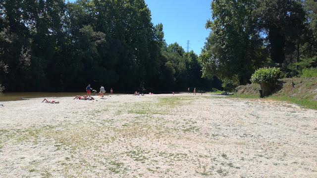 Areal Praia Fluvial Porto Carrero
