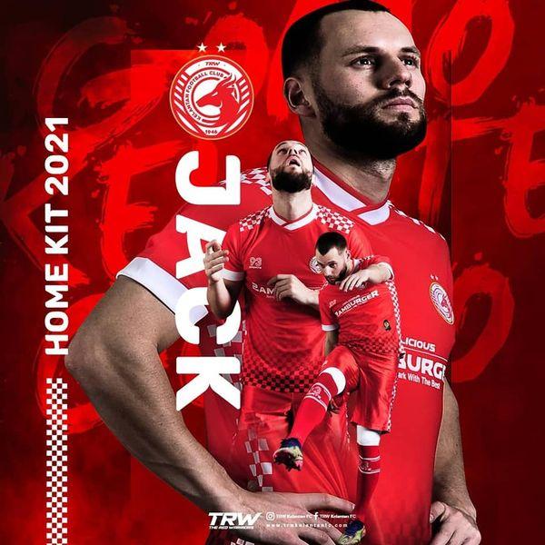 Kelantan FC Kits 2021 -  DLS2019
