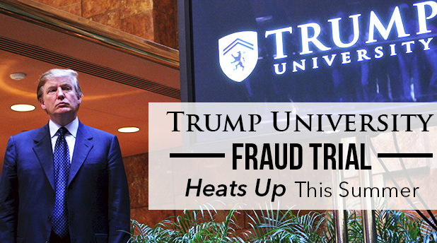 Image result for trump sued for Trump University