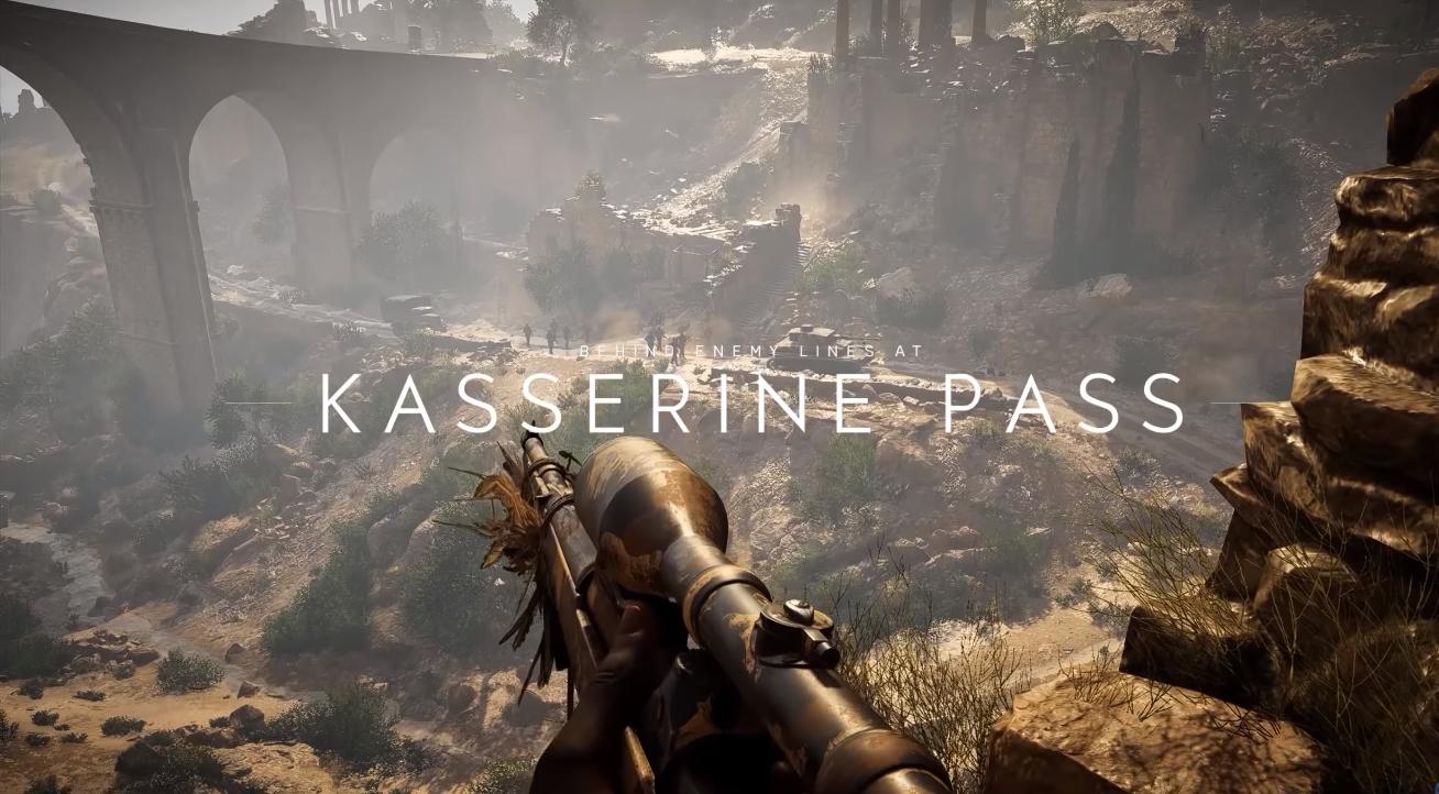 A história por trás de Battlefield V: A Batalha de Kasserine Pass
