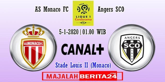 Prediksi AS Monaco vs Angers SCO — 5 Februari 2020