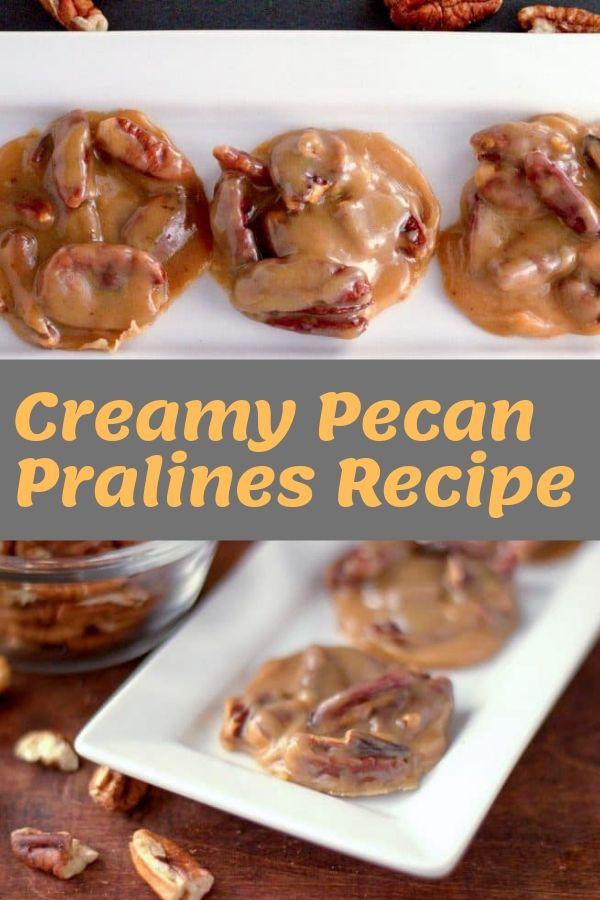 Creamy Pecan Pralines Recipe