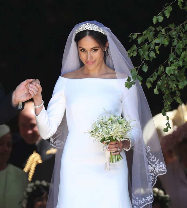 Meghan's bridal bouquet included Diana's favourite forget-me-nots