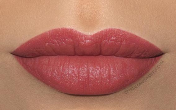 Clarins Joli Rouge Velvet Lipstick Swatch 705v soft berry