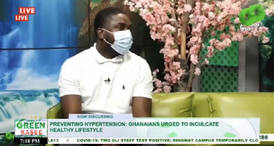HYPERTENSION PREVENTION; Ghanaians Urged To Inculcate Healthy Lifestyle (Watch Video)